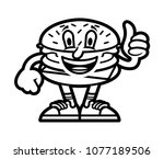 icon cute smile cartoon... | Shutterstock .eps vector #1077189506