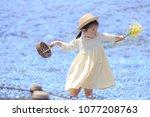 ibaraki  japan   april 20  2018 ... | Shutterstock . vector #1077208763