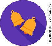 bells  decor  ribbon | Shutterstock .eps vector #1077321743