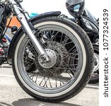Wheel Of Motorcycle Front