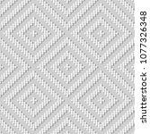 3d white paper art curve cross... | Shutterstock .eps vector #1077326348
