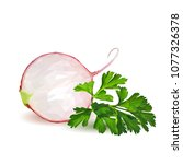 fresh  nutritious  tasty red...   Shutterstock .eps vector #1077326378