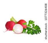 fresh  nutritious  tasty red...   Shutterstock .eps vector #1077326408