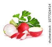 fresh  nutritious  tasty red...   Shutterstock .eps vector #1077326414