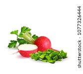 fresh  nutritious  tasty red...   Shutterstock .eps vector #1077326444