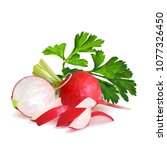 fresh  nutritious  tasty red...   Shutterstock .eps vector #1077326450
