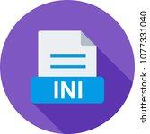 ini  xml  type | Shutterstock .eps vector #1077331040