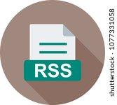 rss  file  technology   Shutterstock .eps vector #1077331058