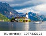 gmunden schloss ort or schloss...   Shutterstock . vector #1077332126