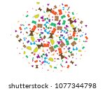 abstract background for summer... | Shutterstock .eps vector #1077344798