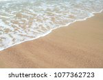 sand of beach at sea | Shutterstock . vector #1077362723