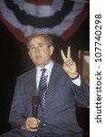 George W. Bush Addressing The...