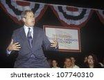 George W. Bush Addressing The...