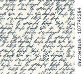 abstract seamless hand write... | Shutterstock .eps vector #107742284