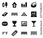 flat vector icon set   soap... | Shutterstock .eps vector #1077438254