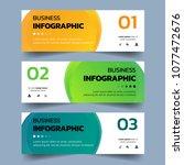 set of infographics banners... | Shutterstock .eps vector #1077472676
