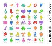 big vector basic design color...   Shutterstock .eps vector #1077493028