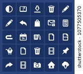 set of 25 web pictograms...