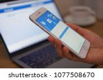 bangkok  thailand   apr 26 ... | Shutterstock . vector #1077508670