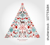 Christmas tree | Shutterstock vector #107753684