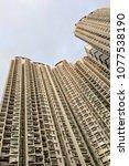residential housing pattern | Shutterstock . vector #1077538190