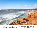 Coast Near Agadir. Rocky Coast...
