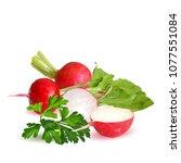 fresh  nutritious  tasty red...   Shutterstock .eps vector #1077551084