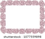 different freehand drawn... | Shutterstock .eps vector #1077559898