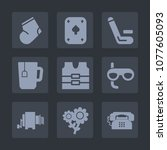 Premium Set Of Fill Icons. Suc...