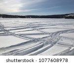 winter scene in labrador  canada | Shutterstock . vector #1077608978