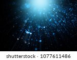 abstract bokeh background.... | Shutterstock . vector #1077611486