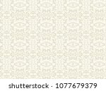 seamless light background with... | Shutterstock .eps vector #1077679379