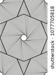 abstract vector seamless op art ... | Shutterstock .eps vector #1077705818
