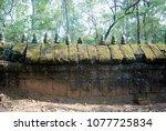 most south sanctuary prasat...   Shutterstock . vector #1077725834