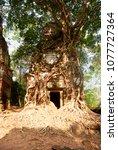 most south sanctuary prasat...   Shutterstock . vector #1077727364