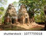 most south sanctuary prasat...   Shutterstock . vector #1077755018