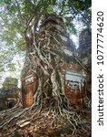 most south sanctuary prasat...   Shutterstock . vector #1077774620