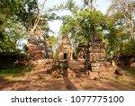 most south sanctuary prasat...   Shutterstock . vector #1077775100