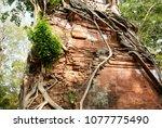 most south sanctuary prasat...   Shutterstock . vector #1077775490