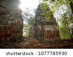 most south sanctuary prasat...   Shutterstock . vector #1077785930