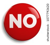 no text red badge isolated... | Shutterstock . vector #1077792620