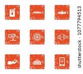 huge amount of money icons set. ...   Shutterstock .eps vector #1077794513