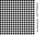Black Gingham Seamless Pattern...