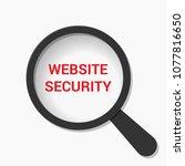 web development concept ... | Shutterstock .eps vector #1077816650
