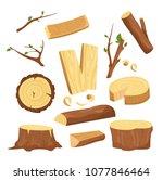 vector illustration set of... | Shutterstock .eps vector #1077846464