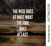 life quotes. inspirational ... | Shutterstock . vector #1077861230