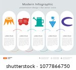 infographics design vector and... | Shutterstock .eps vector #1077866750