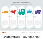 infographics design vector and  ... | Shutterstock .eps vector #1077866780