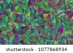 creative illustration in... | Shutterstock .eps vector #1077868934