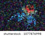 creative illustration in... | Shutterstock .eps vector #1077876998
